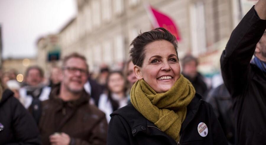 Valget vil nemlig ifølge partiformand Pia Olsen Dyhr vise, om partiet er tilbage.