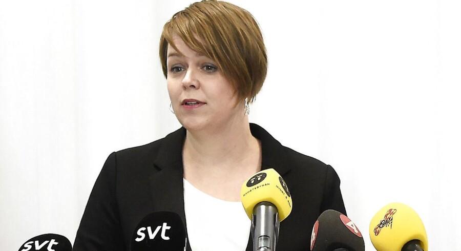 Under et samråd i Retsudvalget i sidste etablerede Justitsminister, Søren Pape Poulsen, en sammenhæng mellem Sveriges udlændingepolitik og den kriminalitet, de oplever. Det har forarget Malmøs borgmester, Katrin Stjernfeldt Jammeh. (Arkiv)