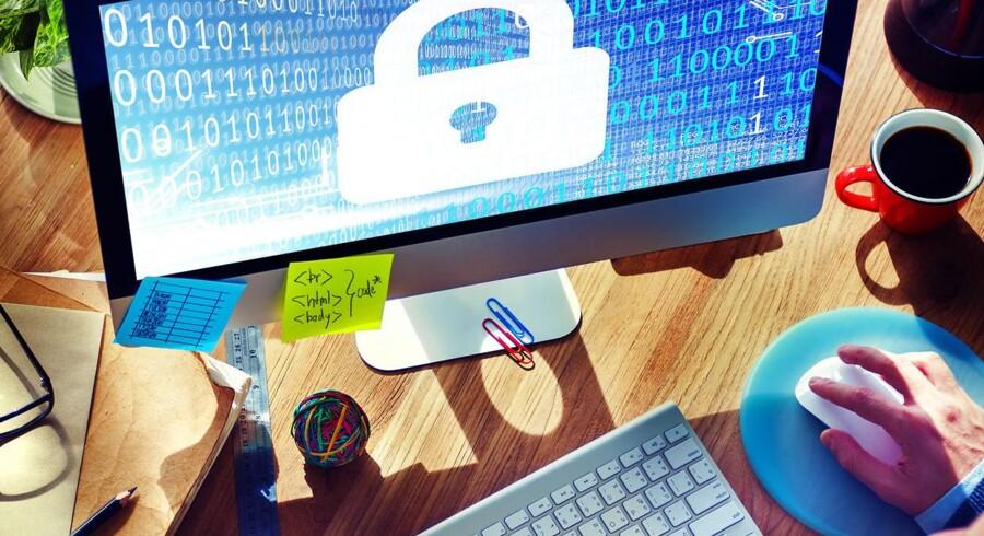 Fra maj 2018 strammes og ensrettes databeskyttelsesreglerne i de - endnu - 28 EU-lande. Men det er stadig uklart for mange, hvad det egentlig er, de skal gøre, for at leve op til de nye regler. Arkivfoto: Iris/Scanpix