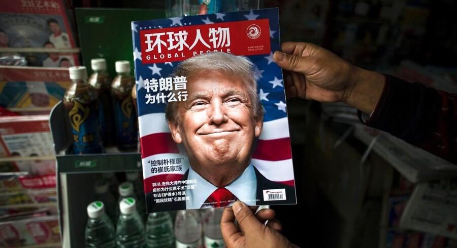 I Beijing har partiledelsen travlt med at forholde sig til præsident Donald Trumps mange udmeldinger om det fremtidige samarbejde med riget i midten. »Hvorfor vandt Trump?« spurgte det kinesiske blad Global People efter valget i November.