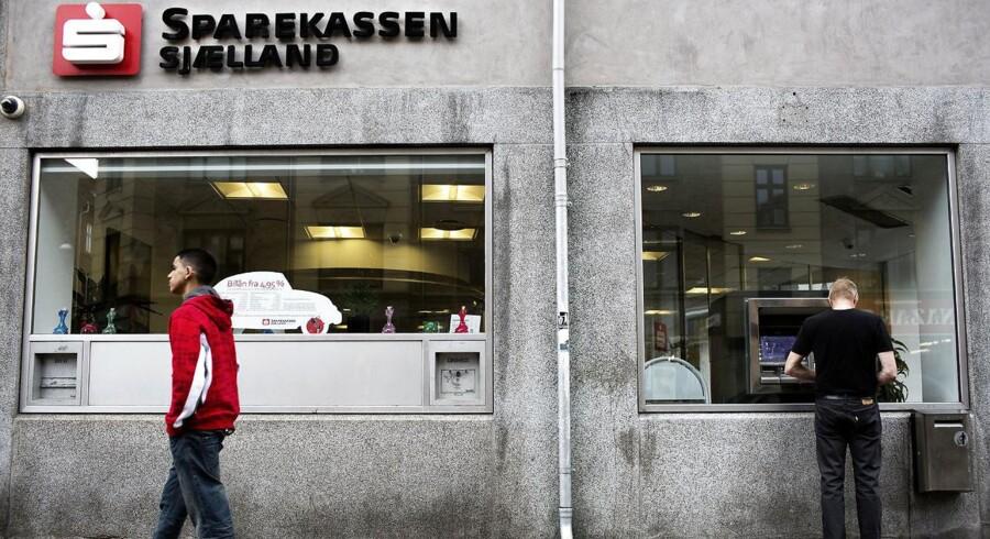 Arkivfoto: Sparekassen Sjælland-Fyn havde et fremragende 2016, hvor lavere nedskrivninger og en markant fremgang i kursreguleringerne gjorde op for en faldende toplinje og sikrede et overskud, som banken selv kalder for historisk.