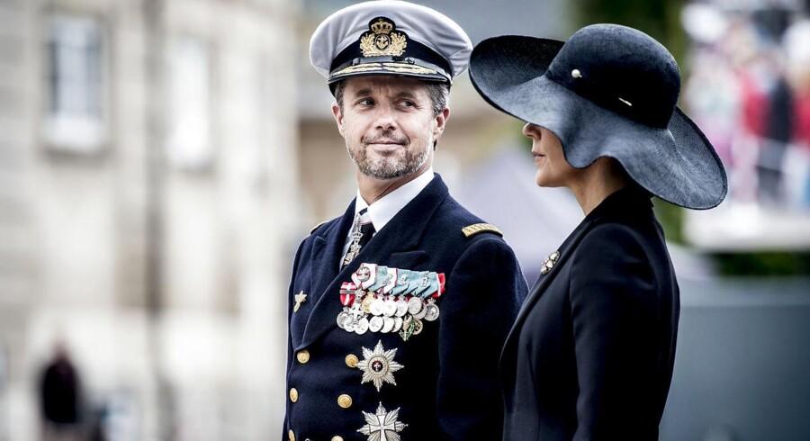 Kronprinsparret skal sammen med bl.a. udenrigsminister Anders Samuelsen en tur til Japan for at styrke samhandlen.