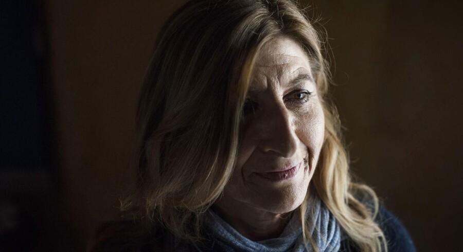 Portræt af Lampedusas borgmester Guisi Nicolini. Fotograferet i hendes kontor på den italienske ø.
