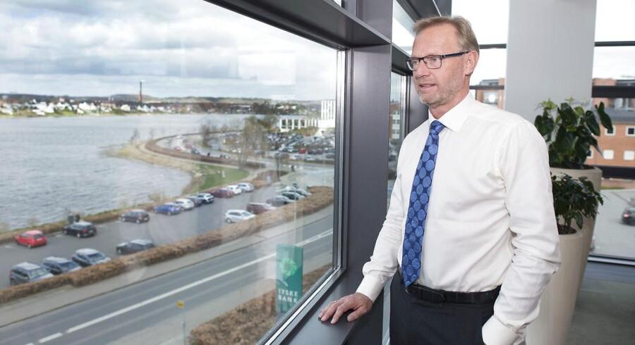 Jyske Banks direktør, Anders Dam - Her i hovedsædet i Silkeborg