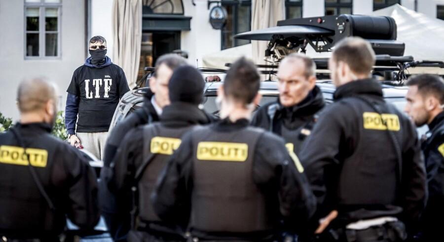 Politiforbund: LTF-forbud kan ikke løse problemet alene. (Foto: Scanpix Danmark STF/Scanpix 2017)