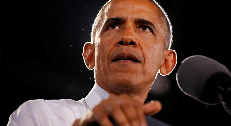 ARKIVFOTO: Barack Obama