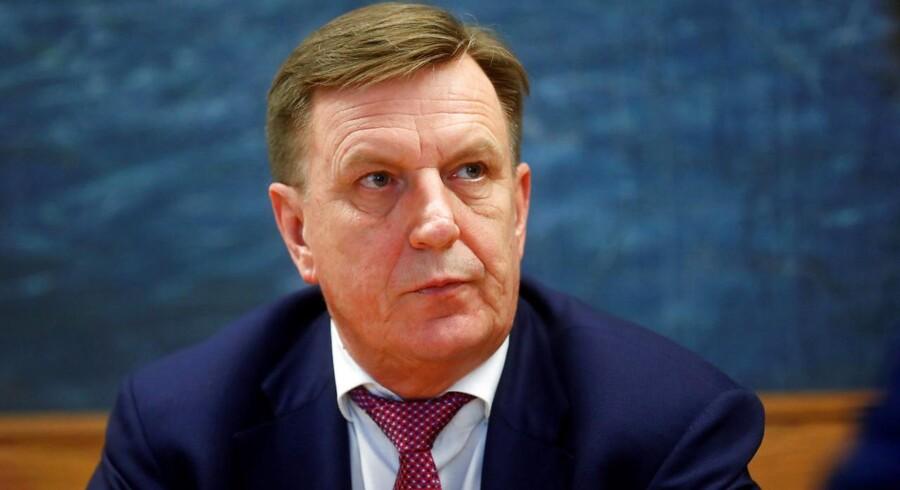Letlands premierminister Maris Kucinskis meddeler nu, at landet vil forbyde stråmandsselskaber for at komme omfattenede hvidvaskproblemer til livs.
