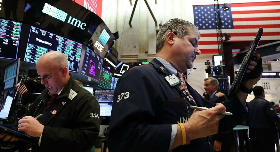 New York Stock Exchange (NYSE) i New York City. (Foto: Spencer Platt/Getty Images/AFP)