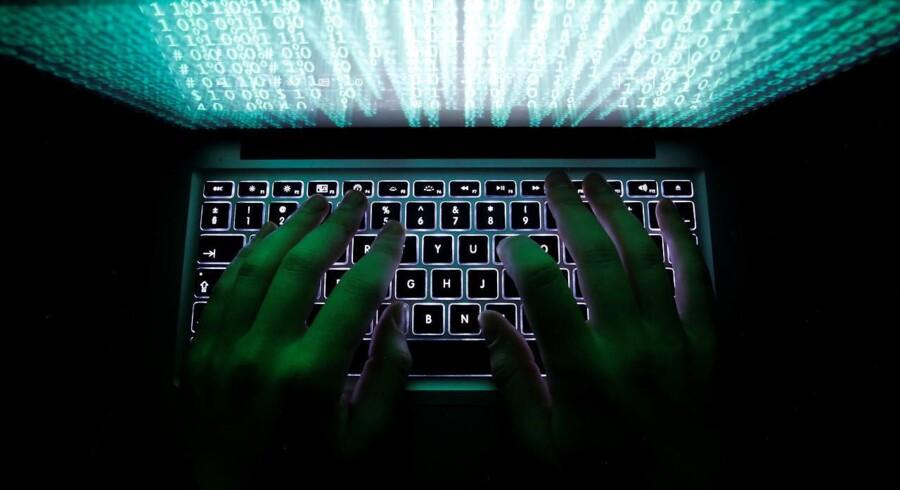 Arkivfoto. Det globale cyberangreb, der fredag aften ramte en lang række lande, har godt et døgn senere indbragt bagmændene omkring 160.000 kroner.