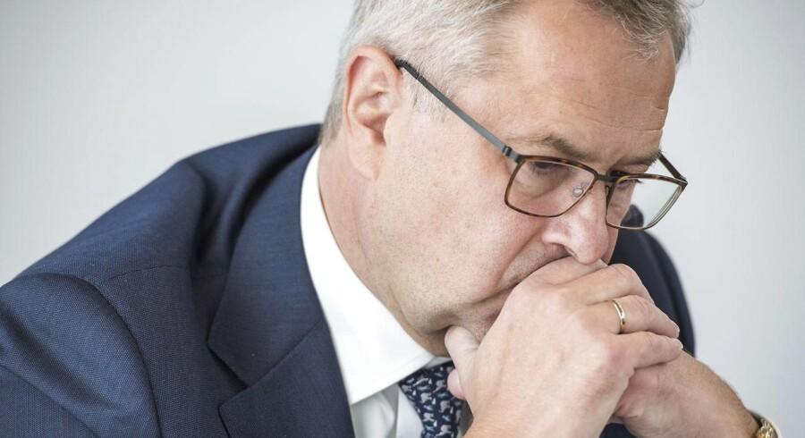 Mærsk-topschef Søren Skou.