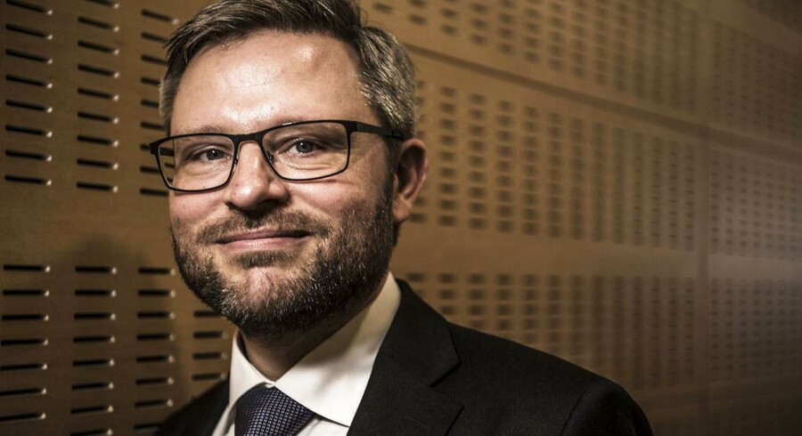 Cheføkonom hos Danske Bank Las Olsen