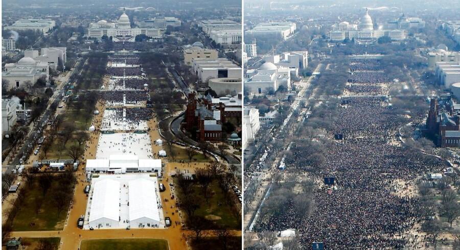 To billeder to virkeligheder. REUTERS/Lucas Jackson (L), Stelios Varias/ (Foto: STAFF/Scanpix 2017)