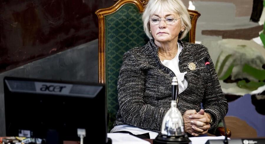»Fint at Muhammedtegninger spredes,« siger formand for Folketinget Pia Kjærsgaard.