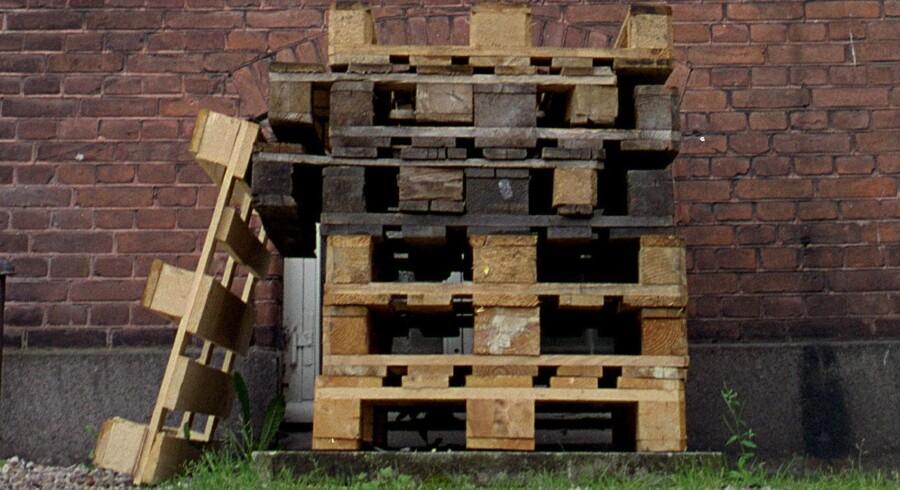 """""""Med et pallemøbel viser du, at du er smagfuldt modkulturel og med på bæredygtig genanvendelse."""" Arkivfoto: Scanpix"""