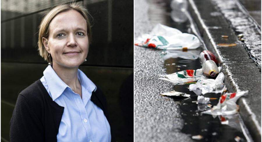 Venstre i København vil sætte ledige borgere på kontanthjælp til at rengøre byen.