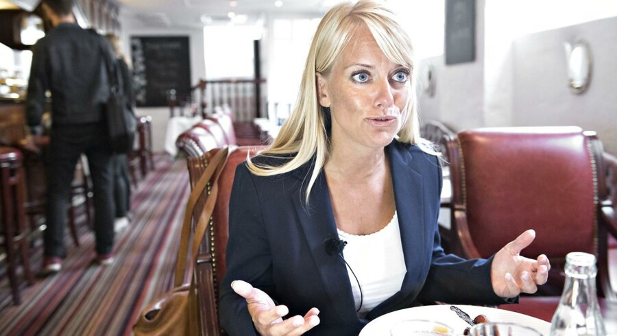 Pernille Vermund, formand for partiet Nye Borgerlige
