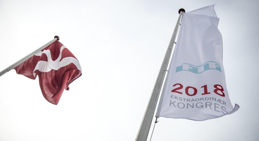 Fagbevægelsens to store hovedorganisationer er samlet i Odense fredag. Scanpix/Mads Claus Rasmussen
