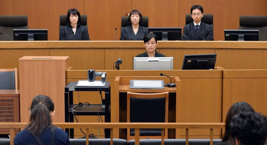 En ældre kvinde forgiftede sine elskere for at indkassere forsikringssummer. / AFP PHOTO / JIJI PRESS / STR / Japan OUT / JAPAN POOL