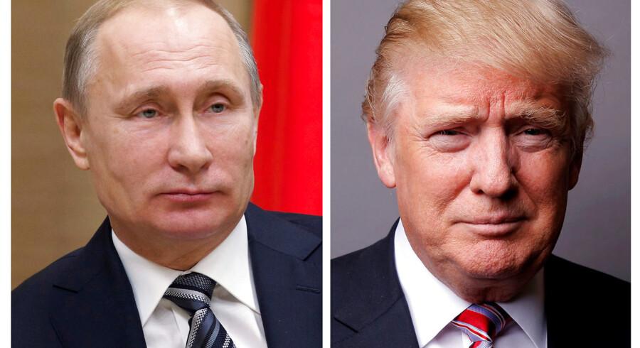 Under valgkampen annoncerede Donald Trump, at han ønskede at forbedre forholdet til Rusland. Indtil videre er forbrødringen løbet ud i sandet.