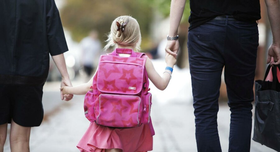 Der bliver konstant peget fingre af forældre, der får skyld for, at børn bliver tykke, at børn ikke kan vente på deres tur i skolen, og at de store børn ikke bliver håndværkere. Nu har formanden for forældrene til skolebørn fået nok. Foto: Erik Refner