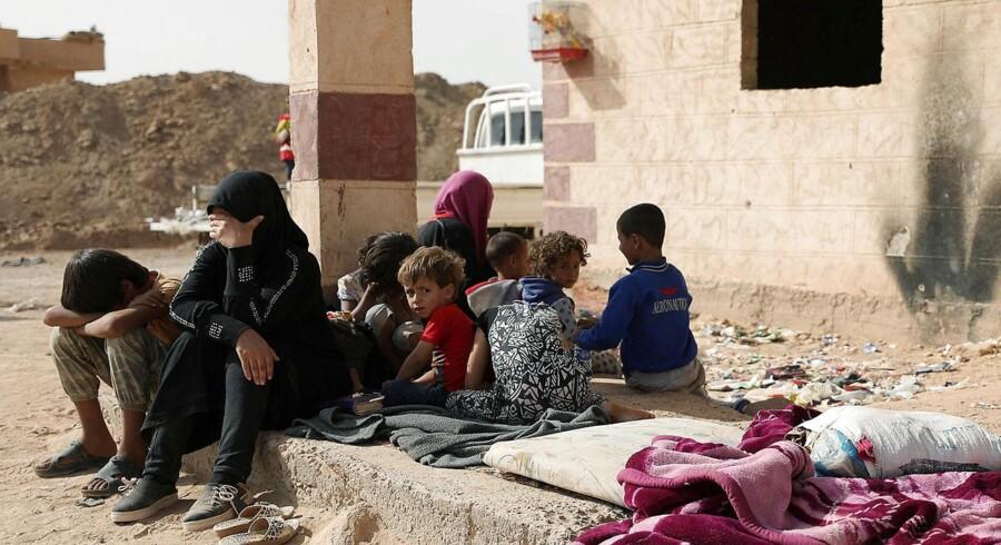 Deir al-Zor, som er den største by i det østlige Syrien, er befriet fra Islamisk Stat, melder stats-tv. REUTERS/ Rodi Said