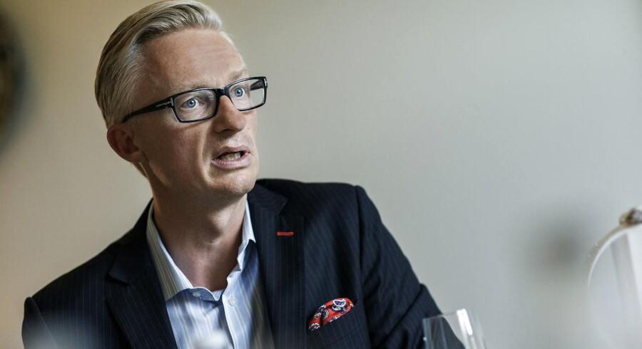 Adm. direktør for Tryg Forsikring, Morten Hübbe, kan notere en kraftig vækst i salget af forsikringer mod cyberkriminalitet.