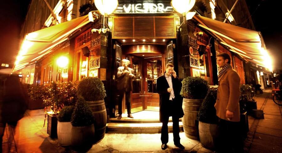 ARKIVFOTO fra Cafe Victor.
