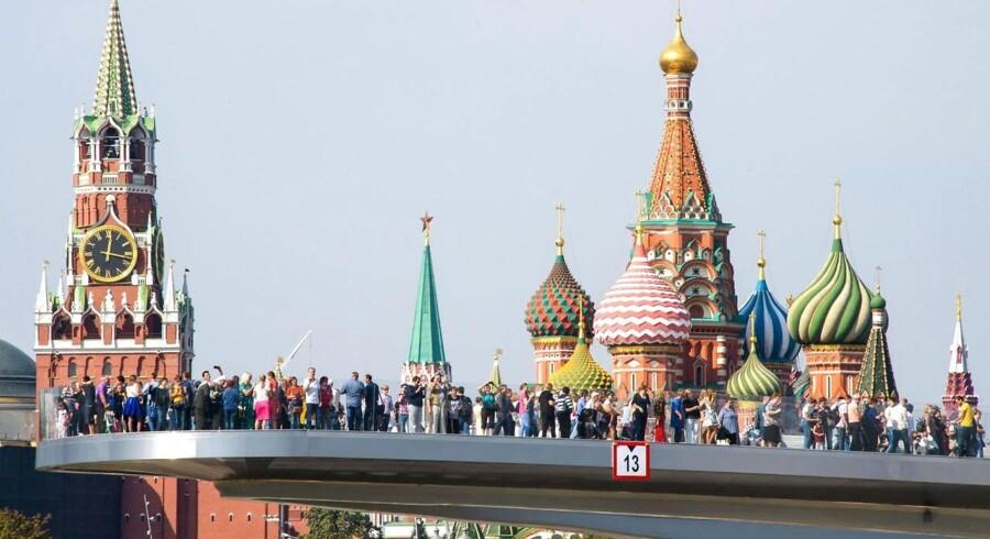 10.000 evakueret i Moskva efter bombetrusler En bølge af falske bombetrusler har ramt Rusland de seneste dage, skriver mediet Bloomberg.