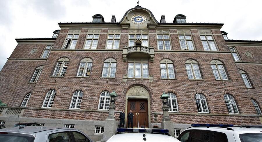Arkivfoto af Retten i Aarhus. (Foto: Henning Bagger/Scanpix 2012)
