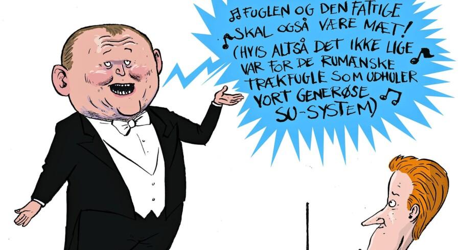Statsministeren har rejst landet rundt med budskabet om at gøre SU-systemet mere robust.
