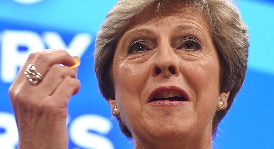 Den britiske premierminister, Theresa May.