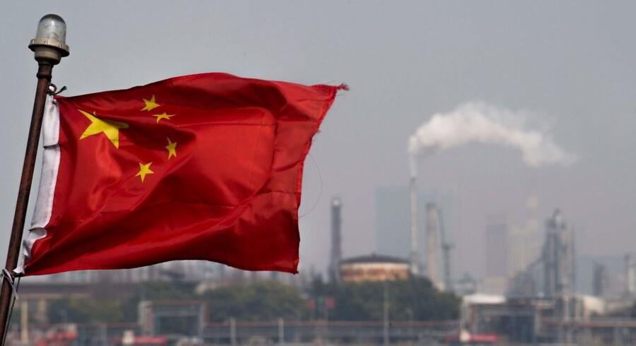 Kina svarer igen på amerikanske planer om at indføre ekstra told på kinesiske varer. Foto: JOHANNES EISELE