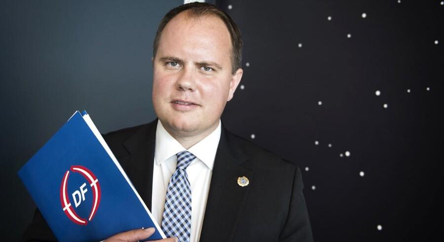Dansk Folkepartis 20. årsmøde 2015. Martin Henriksen.