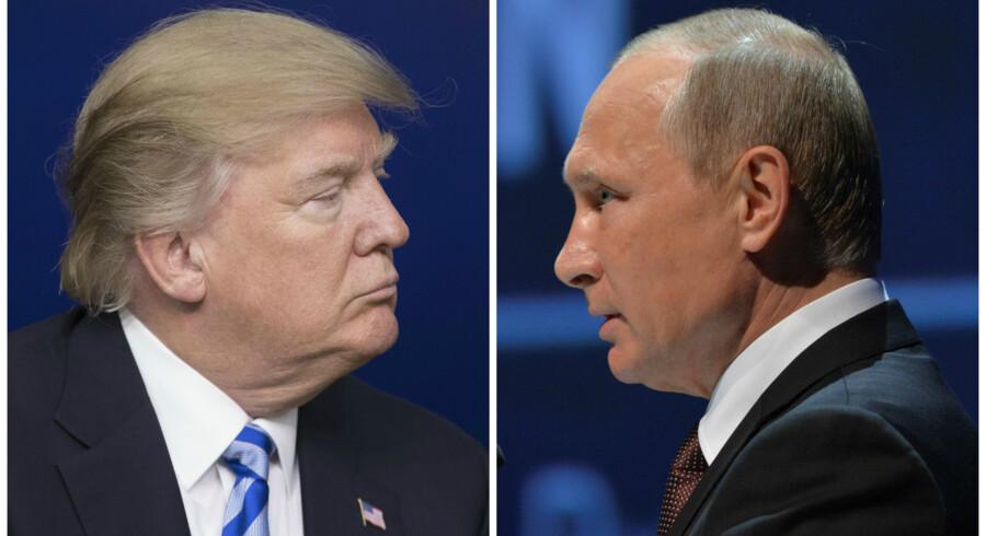 Trump foto: Michael Reynolds Putin foto: Sputnik/Alexei