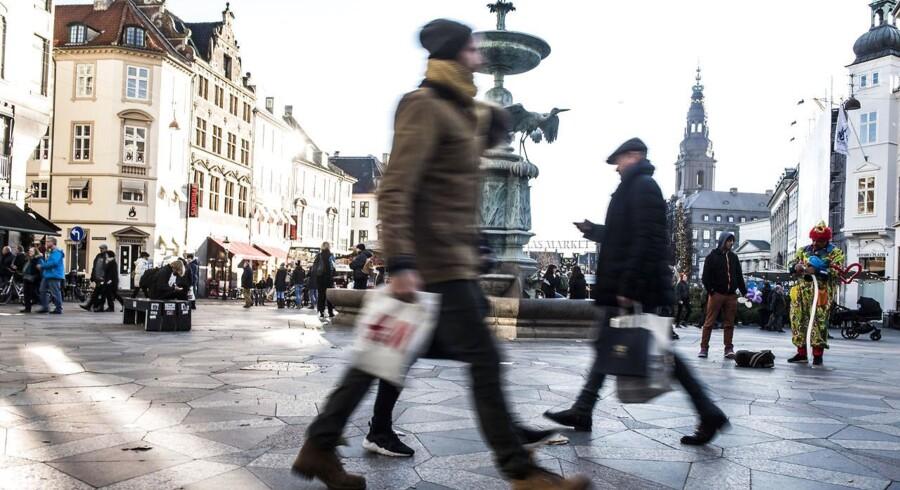 Arkivfoto: De danske forbrugerpriser stiger.