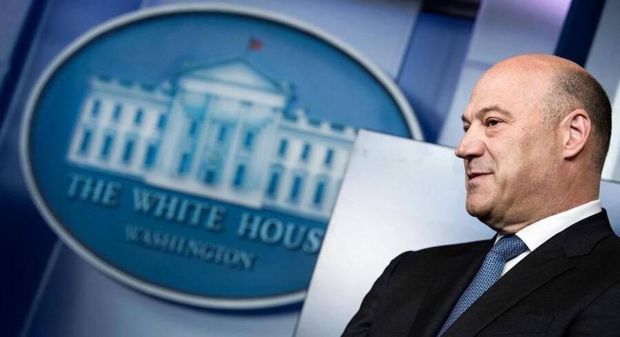 Gary Cohn trækker sig som Trumps økonomiske rådgiver.