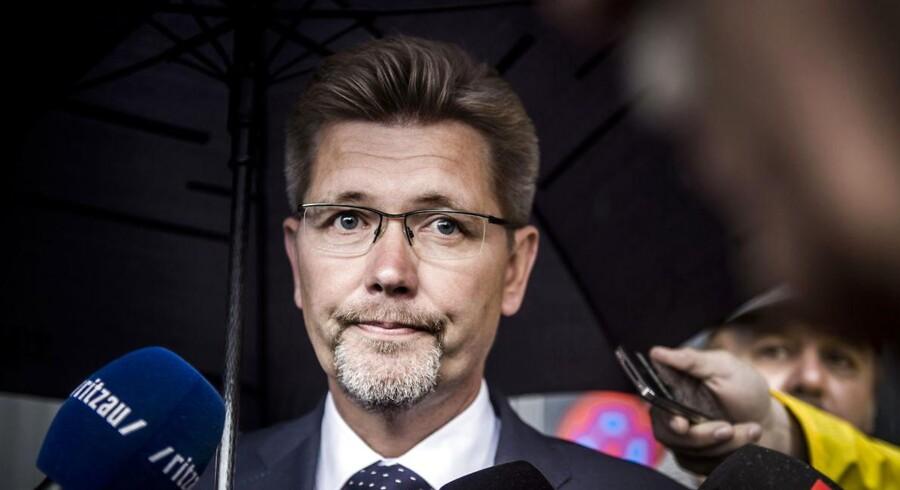 ARKIVFOTO af Frank Jensen (S). Konservative og DF afkræver nu overborgmesteren en forklaring i sagen om det store pengeforbrug hos Arena CPHX, der står bag opførslen af Københavns nye multiarena.