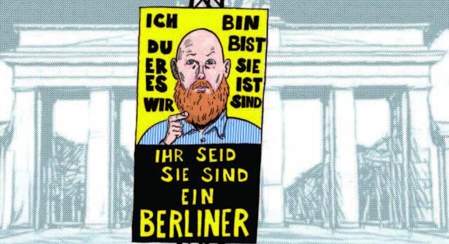 Tegning: Claus Bigum.