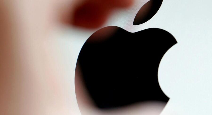 Arkivfoto. Apple.