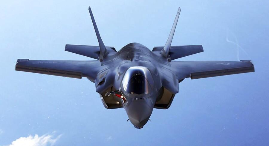 Regeringen vil købe F35 Joint Strike Fighter.