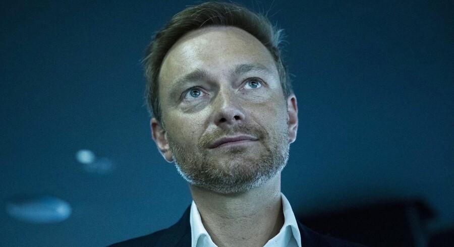 Den liberale partiformand Christian Lindner er havnet i modvind med et forslag om at acceptere Ruslands anneksion af Krim.