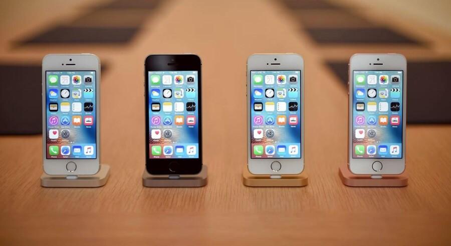 Den nye iPhone SE.