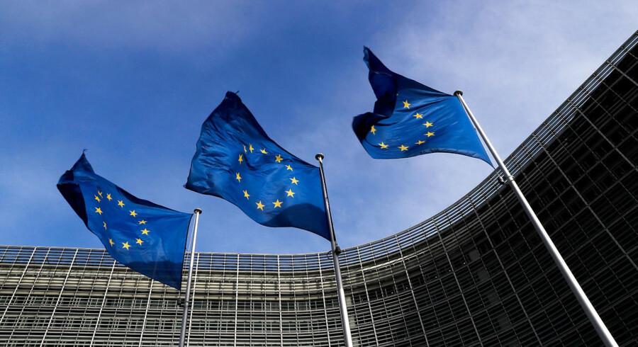 EU-Kommissionens hovedkvarter i Bruxelles. Foto: REUTERS/Yves Herman/File Photo