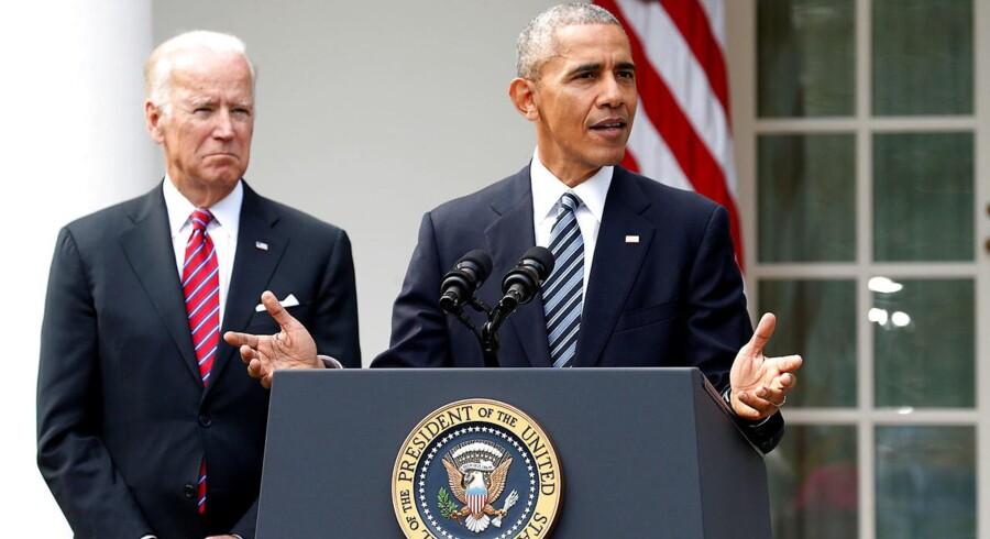I første omgang rykker Obama og hans familie ikke langt væk fra Det Hvide Hus, når hans præsidentperiode udløber. For familien har lejet et hus i Washington på Belmont Road.