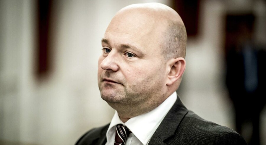 Arkivfoto: Justitsminister Søren Pape Poulsen.