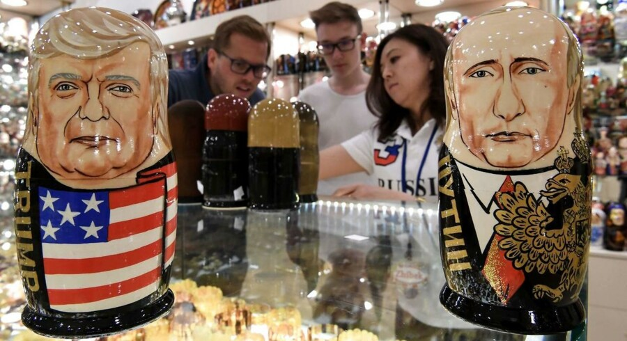Arkivfoto. Den amerikanske præsident skældte ud på Rusland i går i Polen. Og det er blevet bemærket i Moskva.