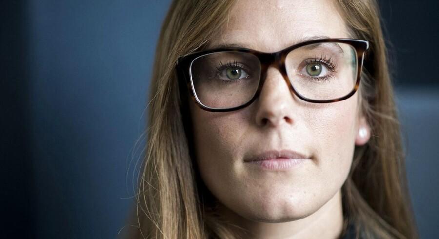 29-årige Anna Steffensen landede et job lige efter studiet, selv om hun ikke scorede topkarakter for specialet. Erhvervserfaring var afgørende, og hun har aldrig vist sine karakterer i forbindelse med ansættelsen.