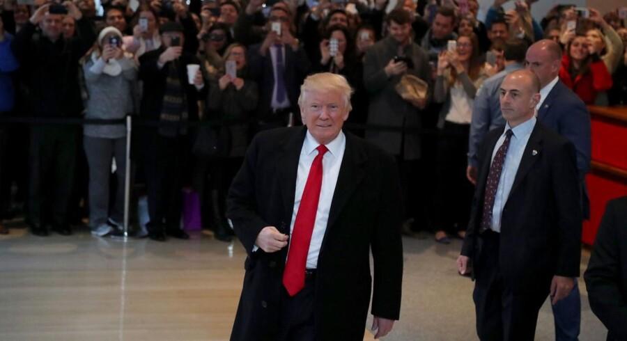 Arkivfoto. USA's kommende præsident, Donald Trump, kan gennem to ledige stillinger i Federal Reserve Board påvirke magtstrukturen for den amerikanske centralbank, Federal Reserve.