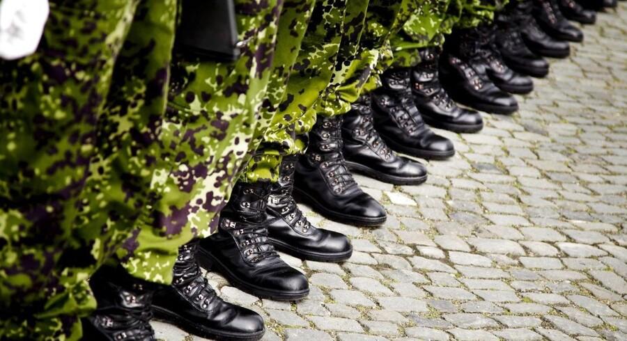 Arkivfoto. En ny dansk brigade på godt 4000 soldater skal stå klar i 2024, fremgår det af regeringens forsvarsudspil.