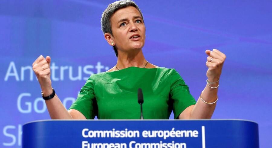 EUs konkurrencekommissær Margrethe Vestager